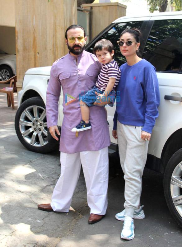 Kareena Kapoor Khan and Saif Ali Khan spotted outside ...