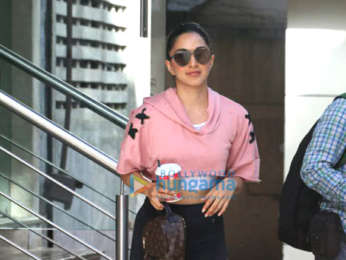 Kiara Advani snapped at the premises of her dance classes in Khar
