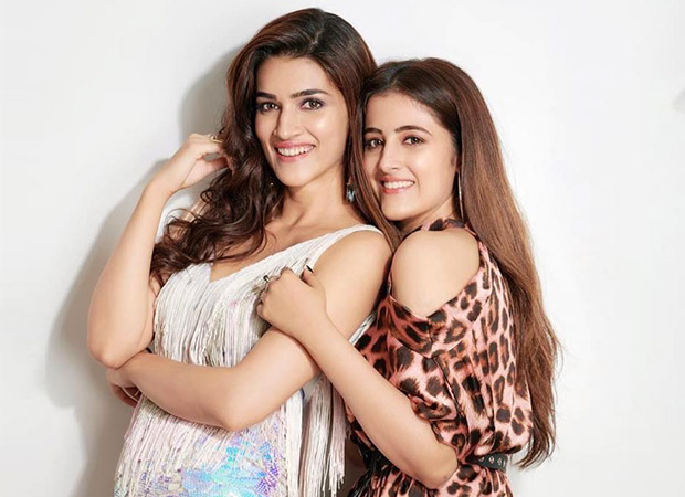 Kriti Sanon and her sister Nupur in a film together Kriti Sanon responds (watch video)