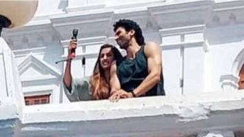 LEAKED! Aditya Roy Kapur and Disha Patani are all smiles on the sets of Malang in Goa