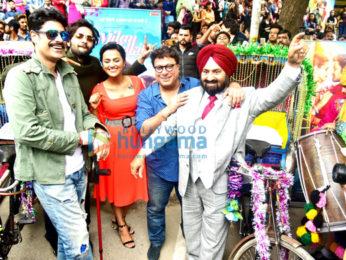Milan Talkies team promote the film in Chandigarh