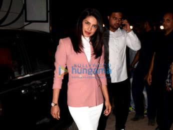 Priyanka Chopra Jonas and Farhan Akhtar snapped at Filmcity