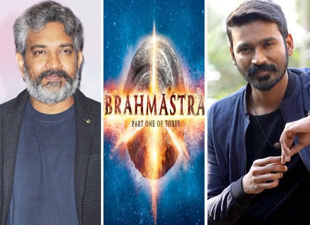 Brahmastra: Baahubali director SS Rajamouli and South star Dhanush launch the logos of Ranbir Kapoor, Alia Bhatt starrer in Telugu and Tamil