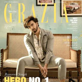 Ranveer Singh On The Cover Of Grazia