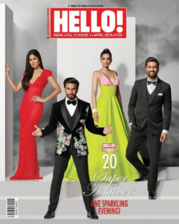 Ranveer Singh On The Cover Of Hello!