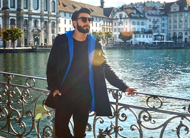 Ranveer Singh basking in Switzerland's sunshine is all you need to drive the midweek blues away