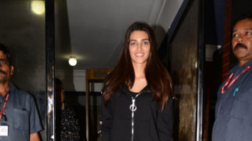 SPOTTED Kriti Sanon at Chandan Cinema