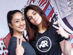 Saiyami Kher and Pooja Gor at Launch of Adidas Ultra Boost 2019