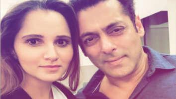 Salman Khan and Sania Mirza strike a pose as she calls him 'family'