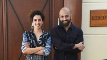 Sanya Malhotra and Ritesh Batra promoting their Upcoming film Photograph