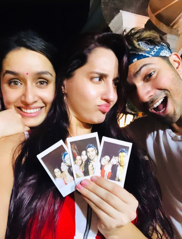Shraddha Kapoor and Nora Fatehi set the dance floor on fire, celebrate Holi with Varun Dhawan and Street Dancer 3D team