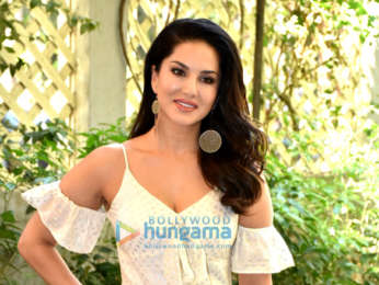 Sunny Leone spotted at an event in Bandra