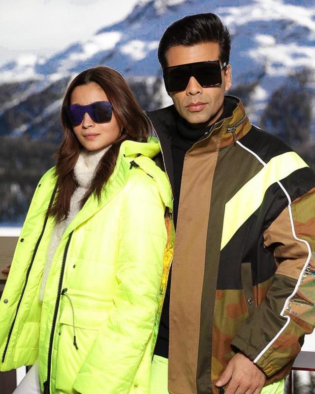 THROWBACK TUESDAY: Alia Bhatt and Karan Johar's winter diaries from Swiss Alps is worth a look