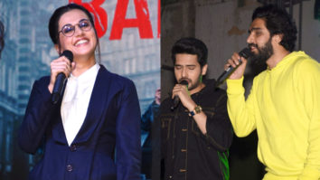 Taapsee Pannu, Armaan Malik and Amaal Malik Visit Narsee Monjee College for Promotion of Badla