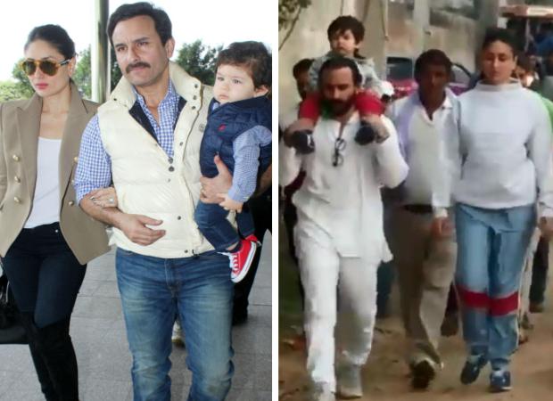 Taimur Ali Khan visits Ghosi Purna village in Meerut with parents Saif Ali Khan and Kareena Kapoor Khan