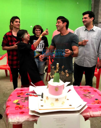 On The Sets Of The Movie The Sky Is Pink