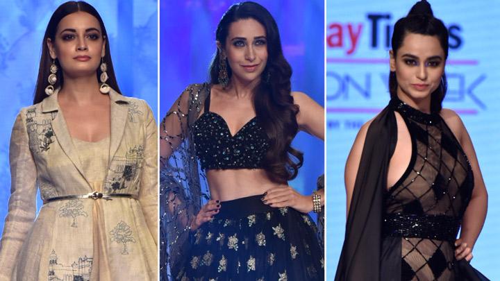 UNCUT Karisma Kapoor, Dia Mirza & others at Bombay Times Fashion Week Day 2