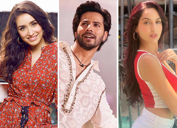 Varun Dhawan gives a glimpse of the face-off between Shraddha Kapoor and Nora Fatehi as they battle it out on First Class