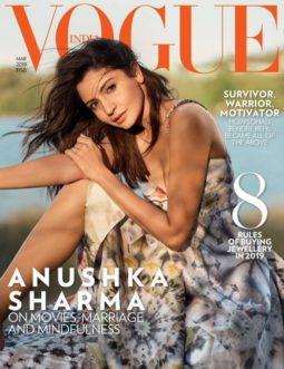 Anushka Sharma On The Covers Vogue