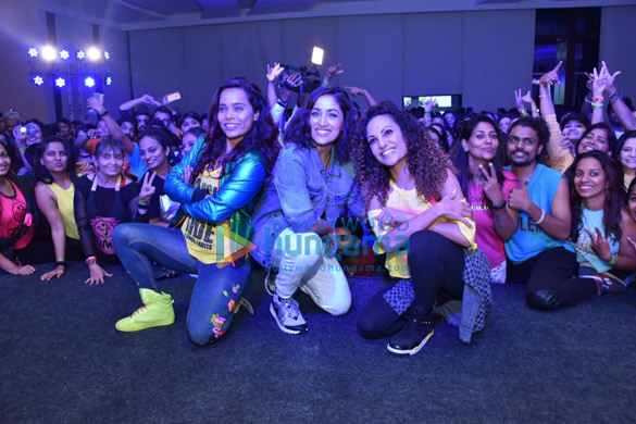 Yami Gautam snapped at a Zumba event (2)