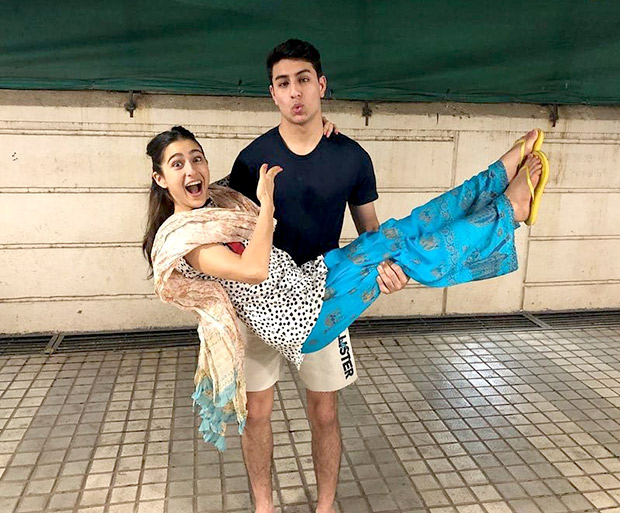 Sara Ali Khan reveals her ADORABLE bond with brother Ibrahim Khan in this SWEETEST birthday wish ever! [See photo]
