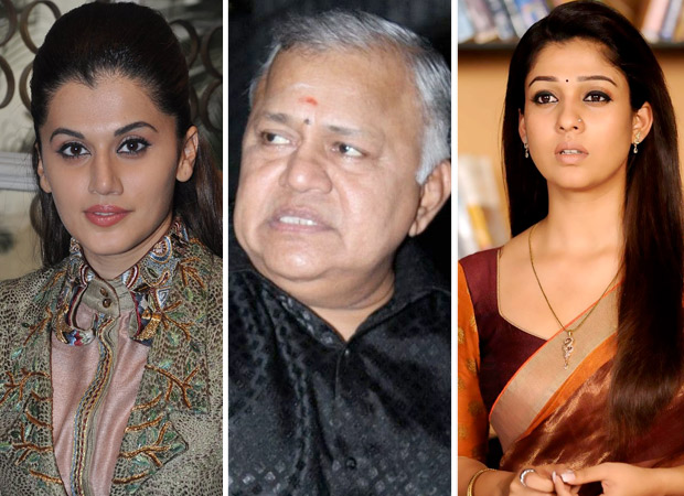 Badla actress Taapsee Pannu comes out in support of South star Nayanthara after Radha Ravi makes offensive comments against the actress