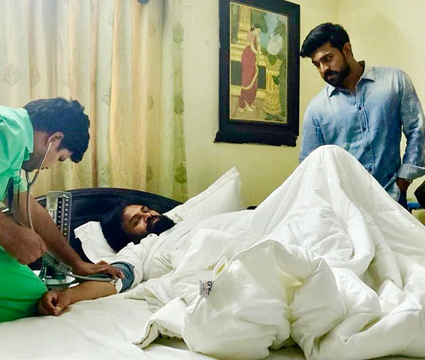 Ram Charan informs his fans about the ill health of his uncle, actor-politician Pawan Kalyan through this post!