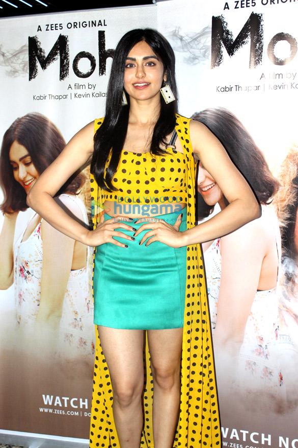 Adah Sharma promotes Zee5 Original's web series 'Moh