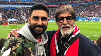 Amitabh Bachchan posted a picture with Abhishek Bachchan and it is making us all warm and fuzzy