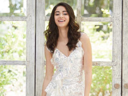 Ananya Panday looks a vision in white in this Needle and Thread one piece