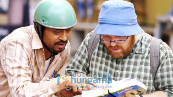 On The Sets from the movie Angrezi Medium