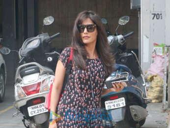Chitrangda Singh snapped in Bandra