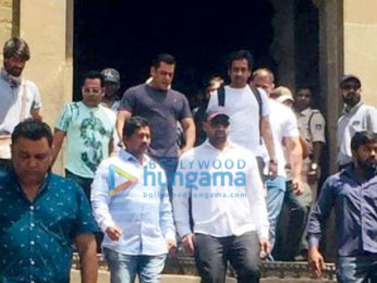 On The Sets from the movie Dabangg 3