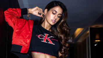 Disha Patani shows off those perfect, well cut abs in this Calvin Klein creation