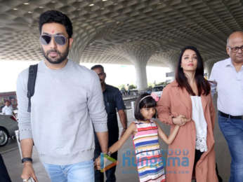 Abhishek Bachchan, Aishwarya Rai Bachchan, Kangana Ranaut and others snapped at the airport