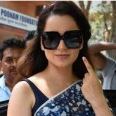 Kangana Ranaut takes a jibe at Congress after Lok Sabha Elections 2019