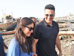 Kareena Kapoor Khan and Akshay Kumar Spotted @Versova Jetty after last schedule of their upcoming film Good News
