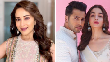 Madhuri Dixit says she has learnt a lot from her Kalank co-stars Alia Bhatt and Varun Dhawan