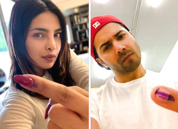 From Priyanka Chopra to Raveena Tandon, Varun Dhawan to Arjun Rampal, here is the list of Bollywood celebrities who have cast their votes!
