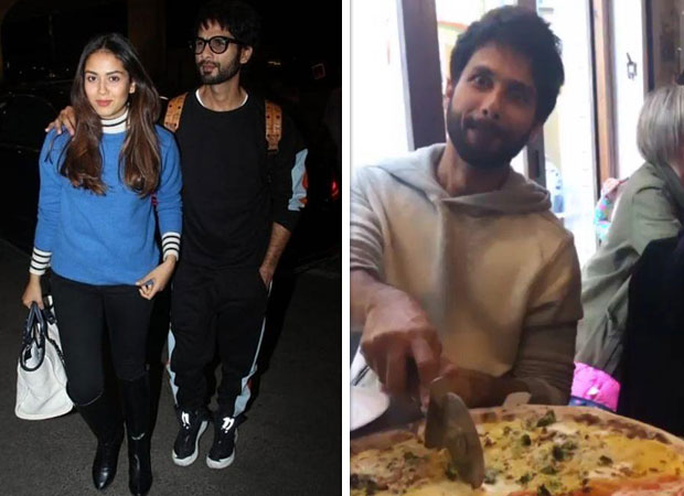Here's why Shahid Kapoor gorging on pizza during their recent trip left Mira Rajput SURPRISED! [Watch video]