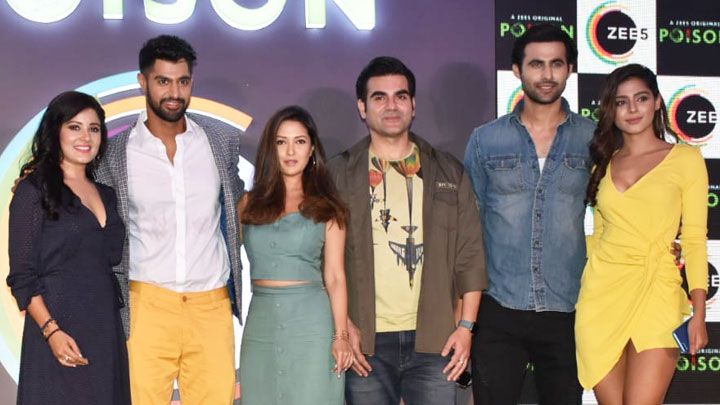 Poison Press Conference Arbaaz Khan Riya Sen Freddy Daruwala ZEE5 Original Part 1