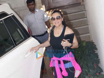 Preity Zinta snapped at Zoya Akhtar's home in Bandra