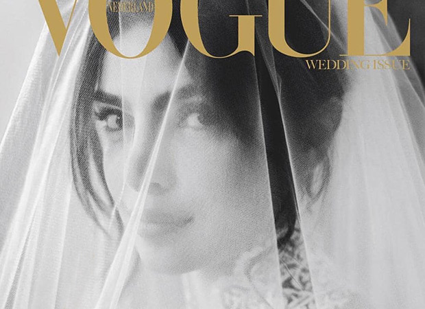 Priyanka Chopra Jonas posed for the cover of Vogue Netherlands in her wedding dress and we can't get over it