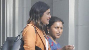 Priyanka Chopra hangs out with Mindy Kaling in Los Angeles