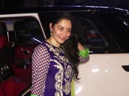 SPOTTED Manyata Dutt at Yauatcha Mumbai