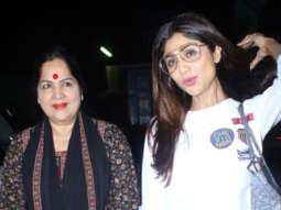 SPOTTED Shilpa Shetty with mother at PVR, Juhu