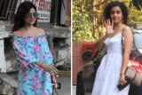 Sanya Malhotra & Shamita Shetty SPOTTED at Juhu