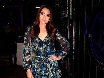 Sonakshi Sinha celebrates the wrap of her next film
