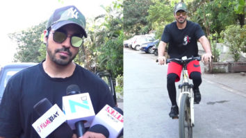 Television Actor Gautam Gulati Spotted RIDING Cycle