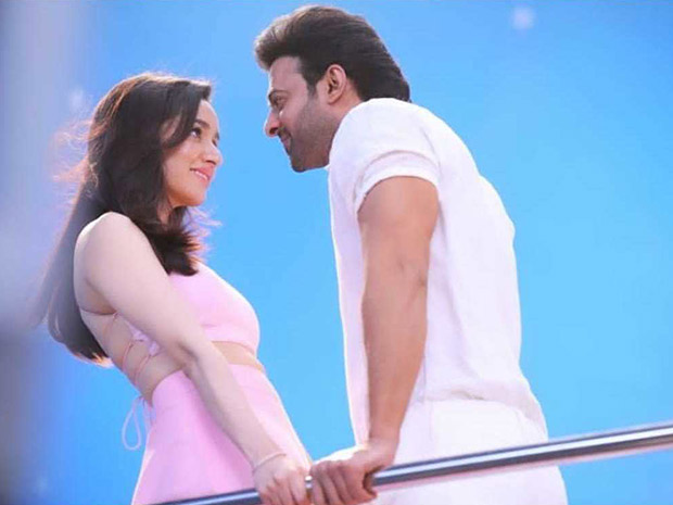 Saaho - This romantic photo of Shraddha Kapoor and Prabhas gets LEAKED from the sets of the film!